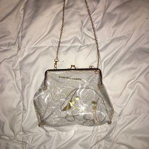 Japanese harajuku style clear purse